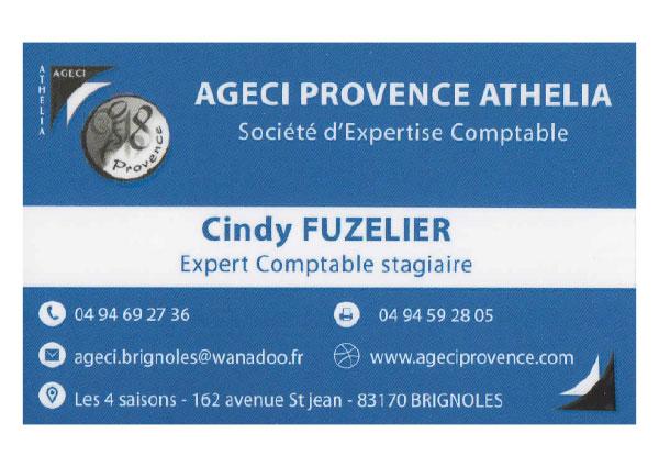 Cindy Fuzelier - Ageci Provence Athélia