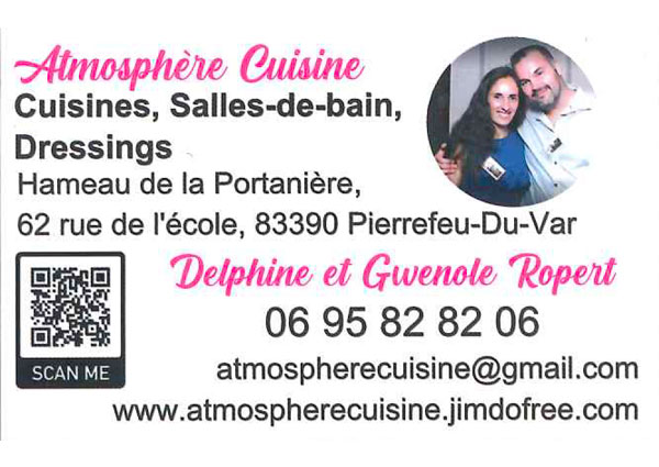 Delphine Ropert - Atmosphère Cuisine