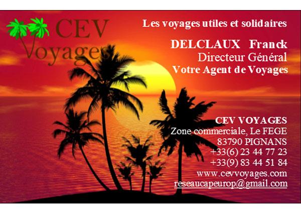 Franck Delclaux - CEV Voyages
