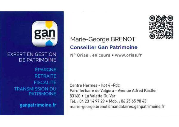 Marie-George Brenot - GAN Patrimoine