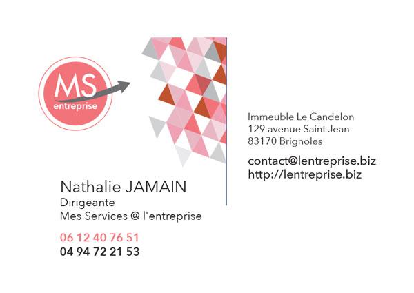 Nathalie Jamain - Mes Services @ L'Entreprise